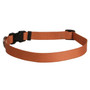 Simple Solids Dog Collar with Tag-A-Long