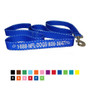 Personalized Embroidered Dog Leash