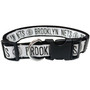Brooklyn Nets Dog Collar