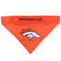 Reversible Denver Broncos NFL Pet Bandana
