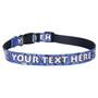 Personalized Blue Bandana Dog Collar