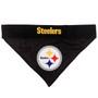 Reversible Pittsburgh Steelers NFL Pet Bandana
