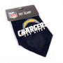 San Diego Chargers NFL Pet Bandana
