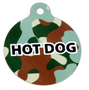 Green Camo HD Dog ID Tag