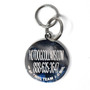New York Rangers NHL Dog ID Tags With Custom Engraving