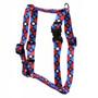 "American Argyle Roman Style ""H"" Dog Harness"
