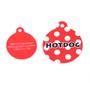 Red Polka Dot HD Dog ID Tag