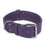 The Purple Dallas - Luxury Leather Dog Collar