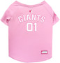 San Francisco Giants PINK MLB Pet Jersey