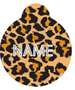 Leopard Print HD Dog ID Tag