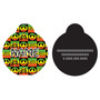 Rasta HD Dog ID Tag