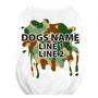 Personalized Green Camo Pet T-Shirt