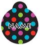 Gumballs Polka Dot HD Dog ID Tag
