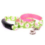 Green Daisy Uptown Designer Dog Leash