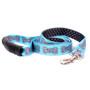 Bella Bone Blue Uptown Dog Leash