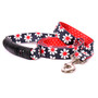 Black Daisy Uptown Dog Leash
