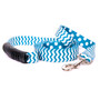 Chevron - Blueberry Uptown Designer Dog Leash