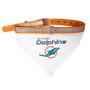 Miami Dolphins Bandana Dog Collar