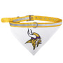 Minnesota Vikings Bandana Dog Collar