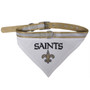 New Orleans Saints Bandana Dog Collar