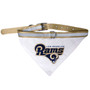 Los Angeles Rams Bandana Dog Collar