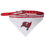 Tampa Bay Buccaneers Bandana Dog Collar