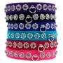 Starlight Filigree Crystal Dog Collar