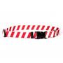 Team Spirit Red and White Break Away Cat Collar