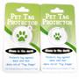 Petite Shamrocks HD Dog ID Tag