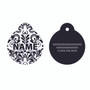 Damask HD Pet ID Tag