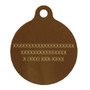 Fall Leaves HD Dog ID Tag