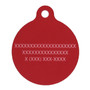 Aloha Red HD Dog ID Tag