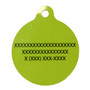 Holiday Treats HD Dog ID Tag