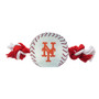 New York Mets Nylon Rope Baseball Squeaker  Dog Toy