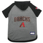 Arizona Diamondbacks Hoodie T-Shirt For Dogs