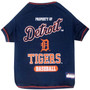 Detroit Tigers Tee Shirt For Dogs