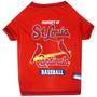St. Louis Cardinals Tee Shirt For Dogs
