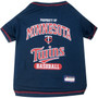 Minnesota Twins Tee Shirt For Dogs