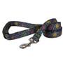 Paisley Skulls Multi EZ-Grip Dog Leash