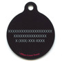 Bright Owls HD Dog ID Tag