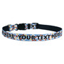 Personalized Bacon and Eggs Dog Collar