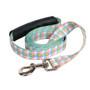Southern Dawg Gingham Multi Plaid Premium Dog Leash