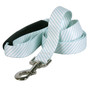 Southern Dawg Seersucker Mint Premium Dog Leash