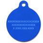 Camo Blue HD Dog ID Tag