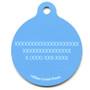 Sweet Lil Whales HD Dog ID Tag