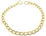 gold  chain dog collar