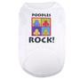 Poodles Rock Pet T-Shirt