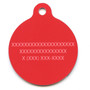 Patriotic Paws HD Dog ID Tag
