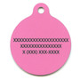 Bandana Pink HD Dog ID Tag