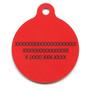 Bandana Red HD Dog ID Tag
